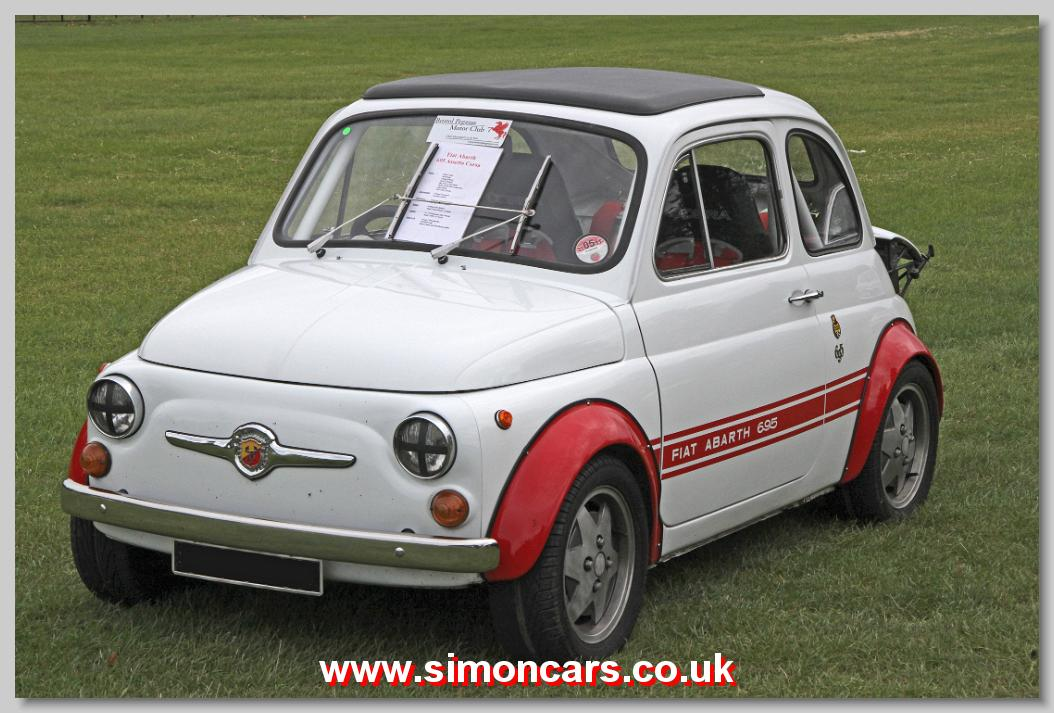 simon cars abarth fiat 695. Black Bedroom Furniture Sets. Home Design Ideas