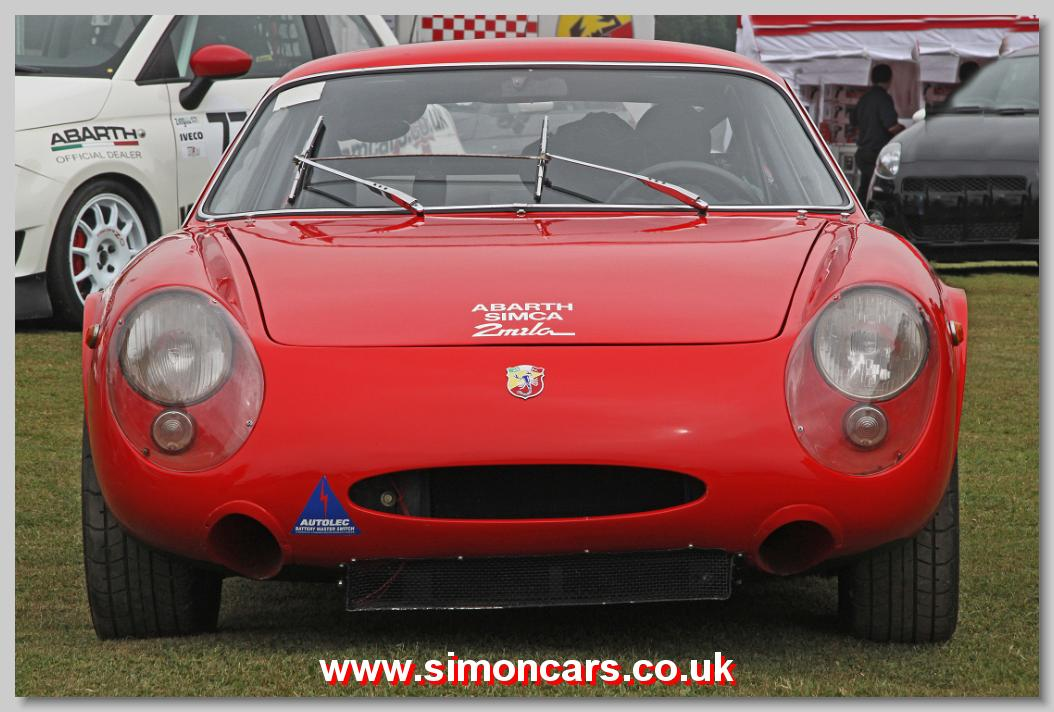Simon Cars Abarth Simca