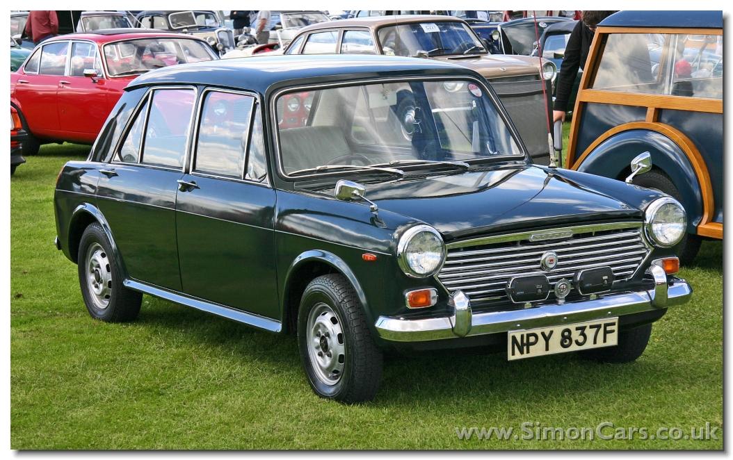 Simon Cars Morris 1100 1300 Ado 16
