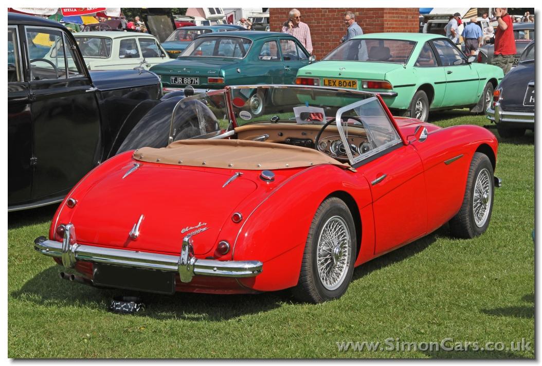 Austin Healey 3000 Mkii Bt7