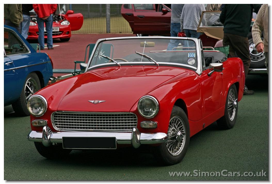 Simon Cars  AustinHealey Sprite