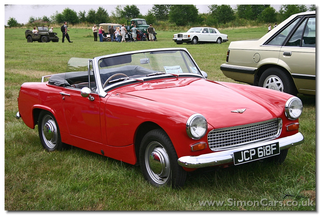 LIKE MIKAS  Mika has a car like this red convertible 1966 Austin