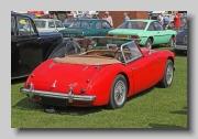 Austin-Healey 3000 MkII BT7 rearo