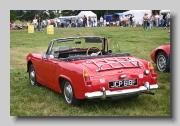 Austin-Healey Sprite mkIV 1967 rear
