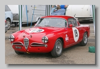 Alfa Romeo 1900 CSS Touring Coupe 1957 front