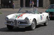 Alfa Romeo Giulia Spider frontw