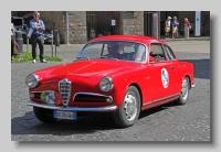 Alfa Romeo Giulietta Sprint 1956 front