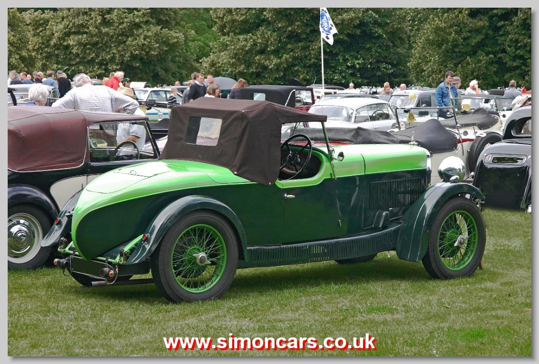 Simon cars alvis 12 50 for Tj motors new london