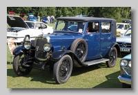 Alvis 1250 1929  Saloon front