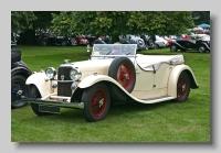 Alvis SA13 Firebird 1936 Tourer front