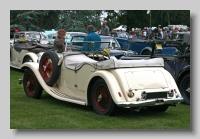 Alvis SA13 Firebird 1936 Tourer rear