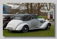 Alvis Silver Crest rear
