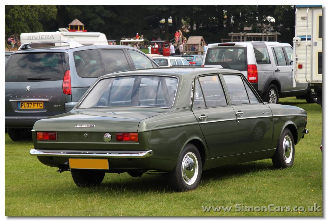 Singer Gazelle 1969 Rear