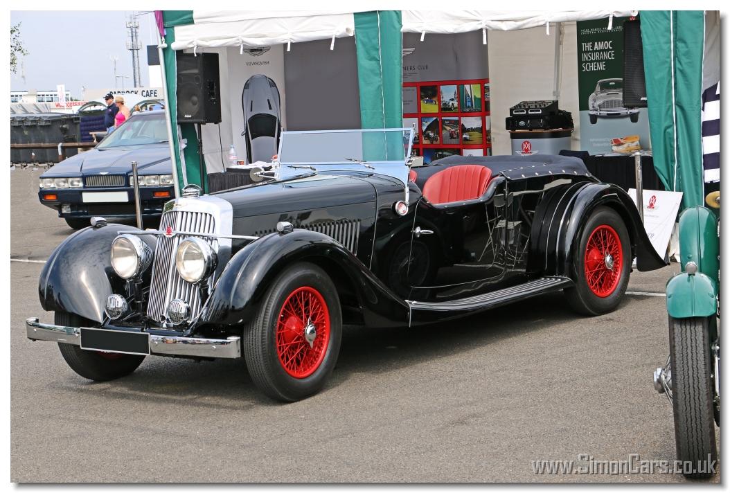 simon cars - aston 15/98 2-litre