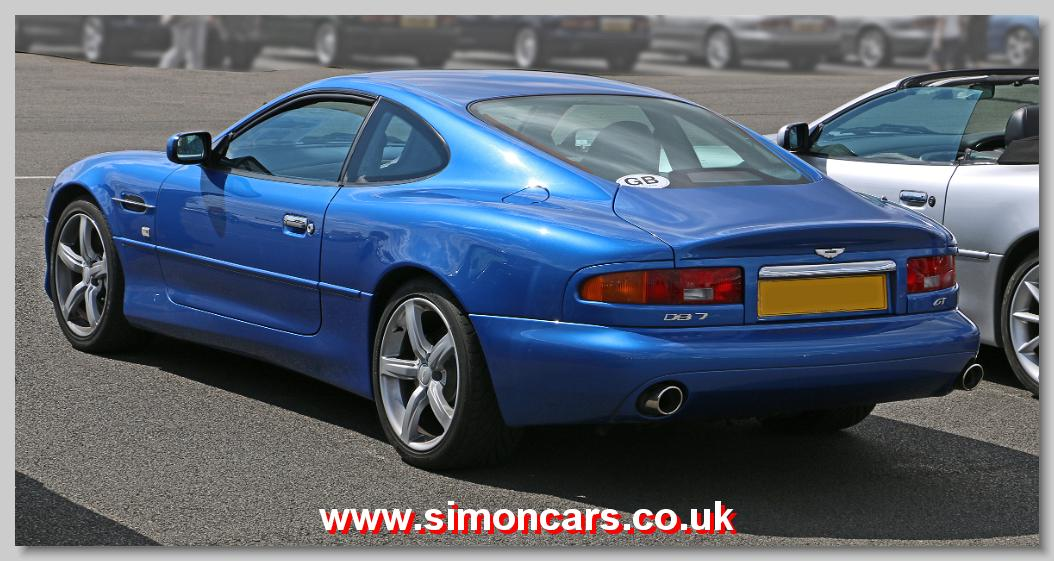 Simon Cars Aston Martin Db7