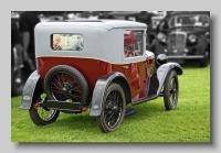 Austin Seven B-type Coupe 1930 rear