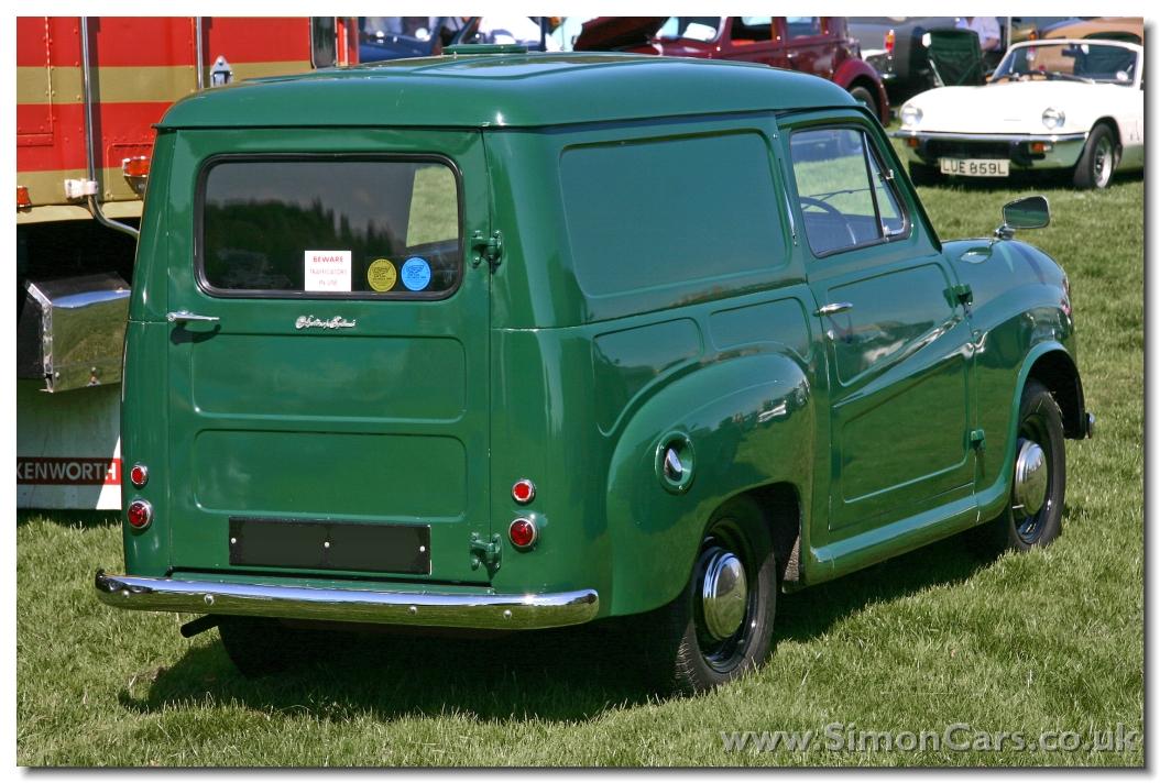 Simon Cars - Austin A30 Van