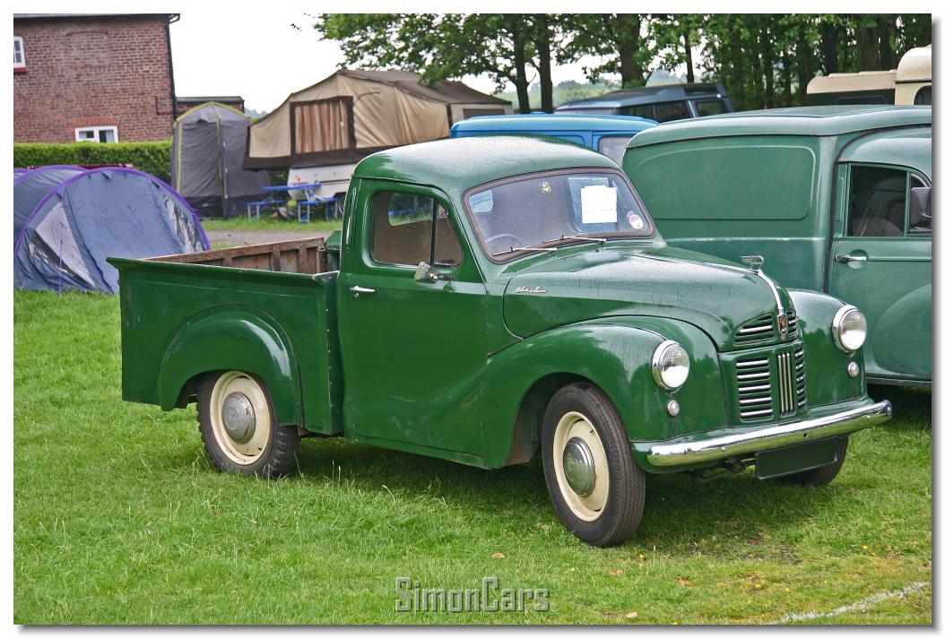 Simon cars a40 van and pickup for 1948 austin devon 4 door