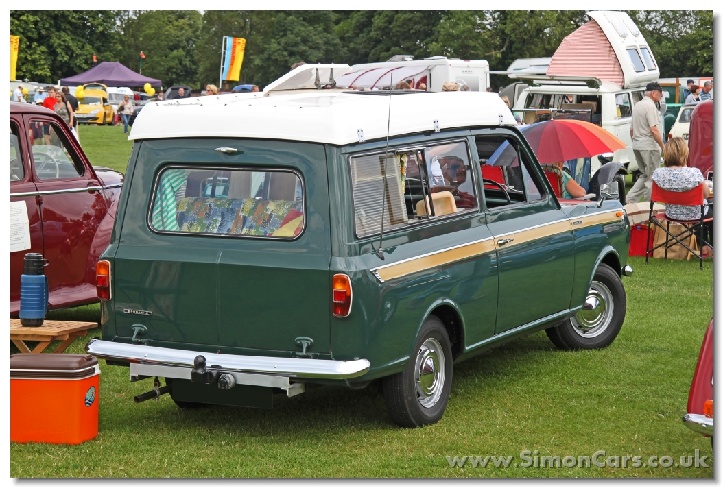 Simon Cars Coachbuilders Dormobile