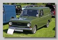Bedford HA 130 Van front 1981
