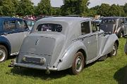 Bentley MkVI 1949 SS Saloon rear