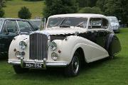 Bentley MkVI 1950 PW Sports front