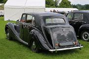 Bentley MkVI 1951 HJM 4-door saloon rear