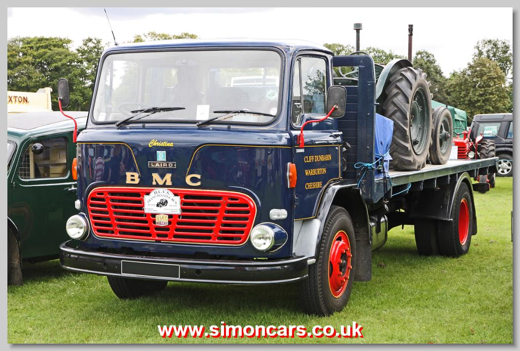 Simon Cars - B M C  Trucks - British Classic Cars, Historic
