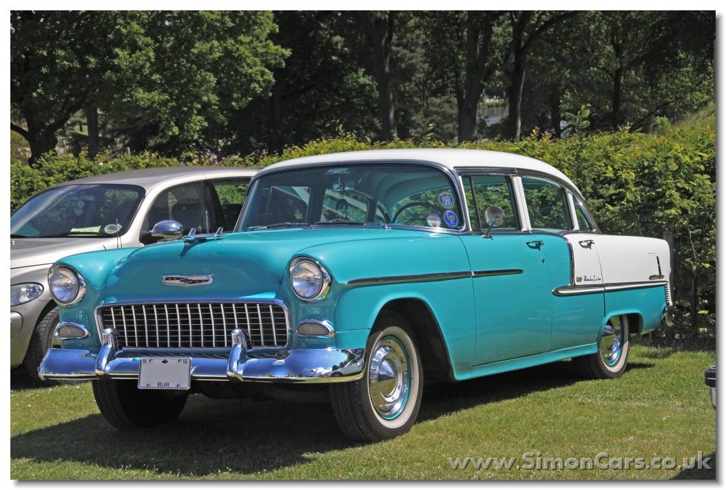 Simon cars chevrolet belair 1955 57 for 1955 chevy bel air four door