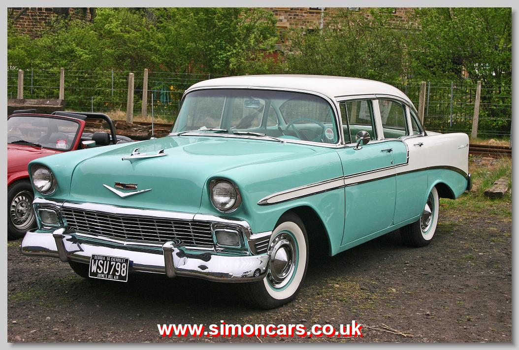 simon cars chevrolet belair 1955 57. Black Bedroom Furniture Sets. Home Design Ideas