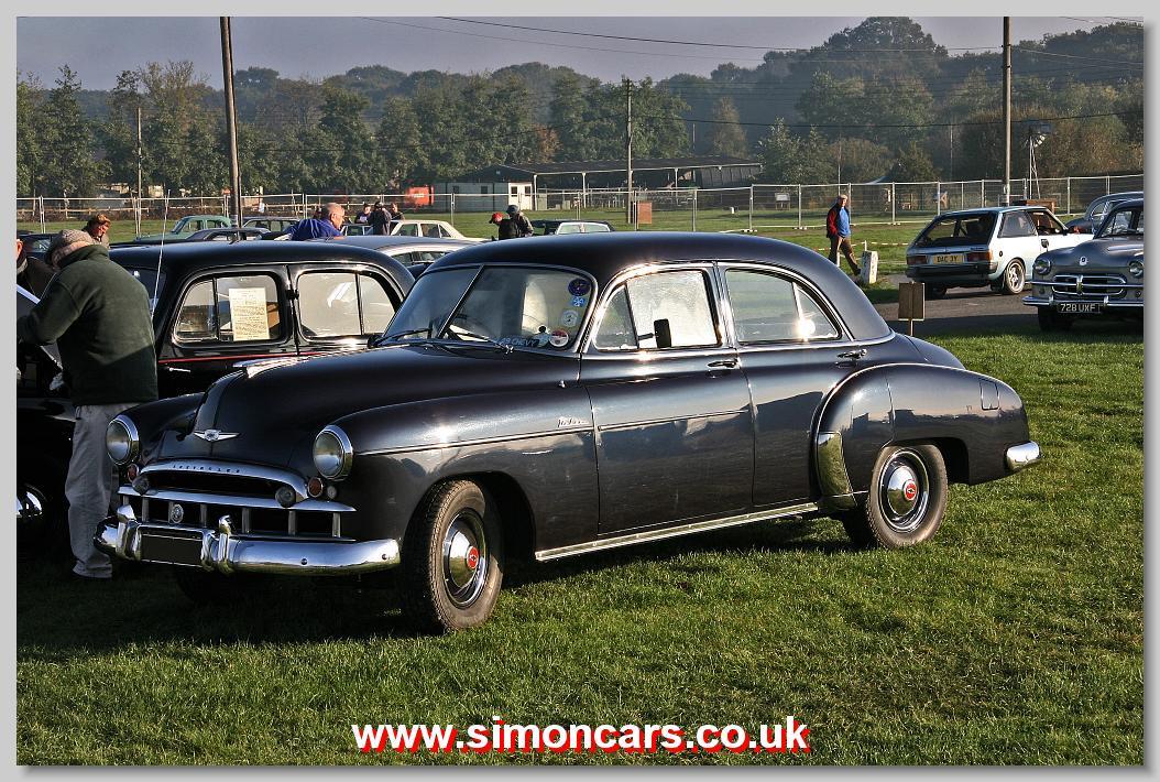 Simon cars chevrolet styleline for 1949 chevy 4 door deluxe