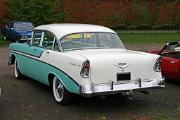 Chevrolet BelAir 1956 4-door sedan 265 V8 rear