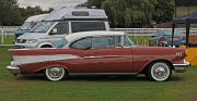 Chevrolet BelAir 1957 Sport Coupe side
