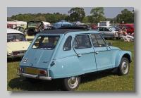Citroën Dyane 6 1973 rear
