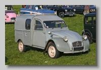 Citroën 2CV AZU Van front