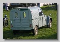 Citroën 2CV AZU Van rear
