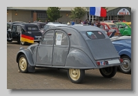 Citroen AZ Berline 1955 rear