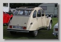 Citroen AZKB 1978 2CV4 rear