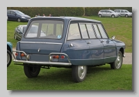 Citroen Ami 6 1965 Break rear