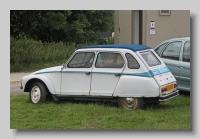 Citroen Dyane 6 1982 rear