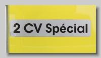aa_Citroen AZKB 1978 2CV Special badge
