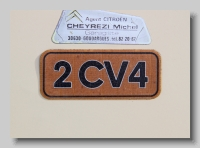 aa_Citroen AZKB 1978 2CV4 badge