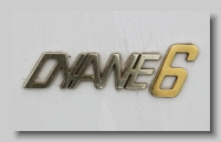 aa_Citroen Dyane 6 1970 badge