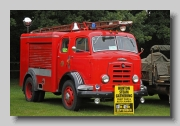 Karrier Gamecock 1956 front Fire Engine