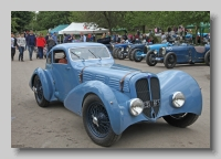 Delahaye 135 1938 Figoni Coupe front