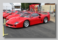 Ferrari F40 frontl
