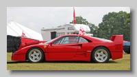 s_Ferrari F40 side