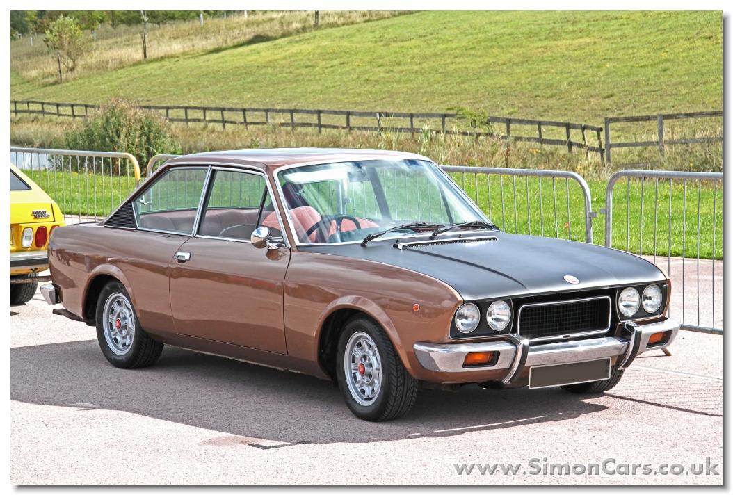 Simon Cars - Fiat 124 Sport Coupe