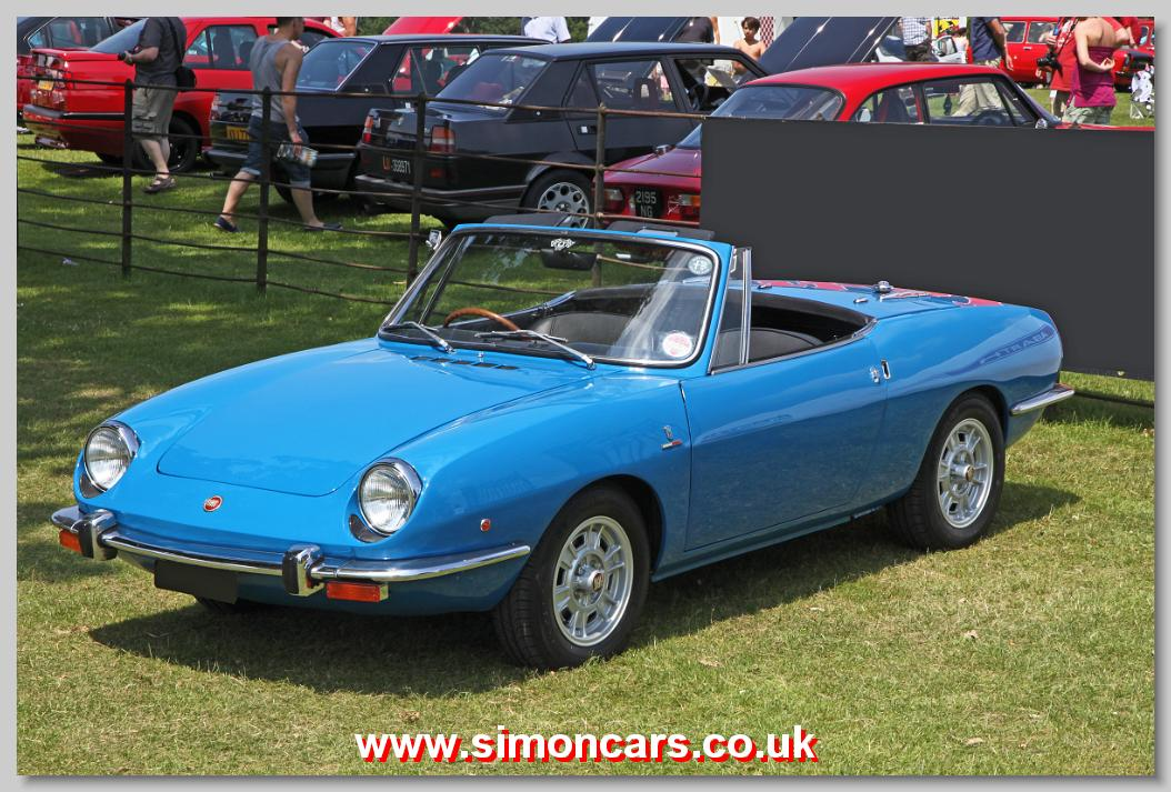 simon cars fiat 850 spider. Black Bedroom Furniture Sets. Home Design Ideas