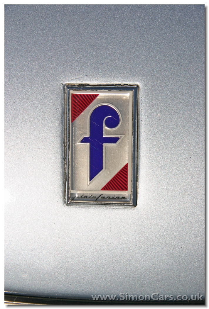 Af Pininfarina Spider Azzurra Badge